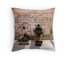 IS THERE LIFE BEFORE DEATH? Throw Pillow