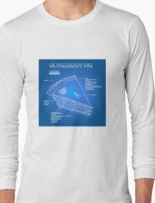 Blue(print)berry Pie Long Sleeve T-Shirt