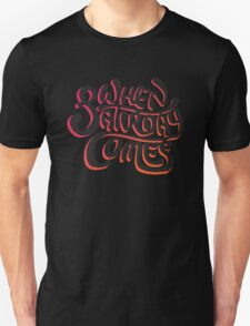 When Saturday Comes Black T-Shirt