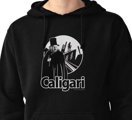 The cabinet of Dr. Caligari Pullover Hoodie