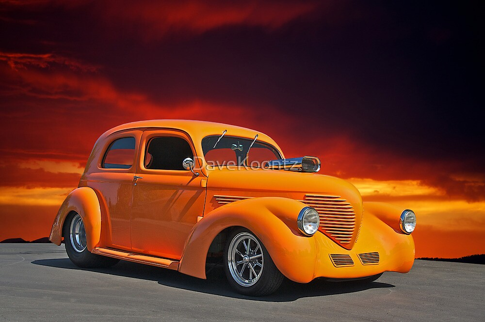 1938 Willys Sedan Sunset II by DaveKoontz