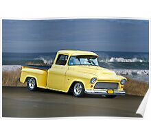 1956 Chevy Pick-Up Poster