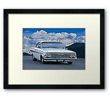 1961 Chevrolet Impala Framed Print