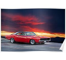 1968 Dodge Charger Poster