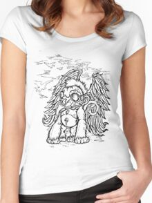 Flying Monkey Women's Fitted Scoop T-Shirt