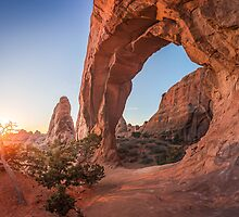 Arches Sunrise by Zero Dean