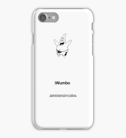 iWumbo-White iPhone iPhone Case/Skin