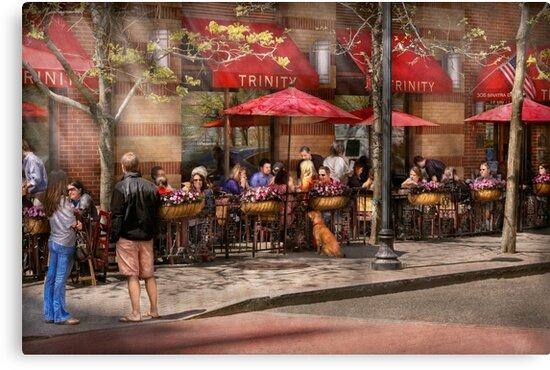 Cafe - Hoboken, NJ - Cafe Trinity  by Mike  Savad