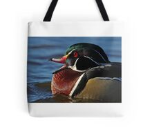 Quack! - Wood Duck Tote Bag