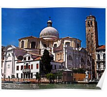 Chiese San Geremia, Venice, It. Poster