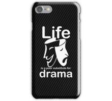 Drama v Life - Sticker iPhone Case/Skin