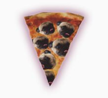 Pug Pizza by marinasakimoto
