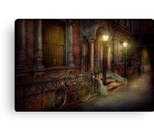 Bike - NY - Greenwich Village - In the village  Canvas Print