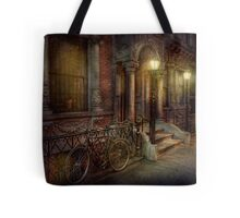 Bike - NY - Greenwich Village - In the village  Tote Bag