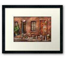 Bike - NY - Urban - Two complete bikes Framed Print