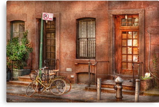 Bike - NY - Urban - Two complete bikes by Mike  Savad