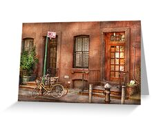 Bike - NY - Urban - Two complete bikes Greeting Card