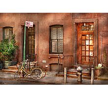 Bike - NY - Urban - Two complete bikes Photographic Print