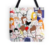 Paint Doktah Who Poster Tote Bag