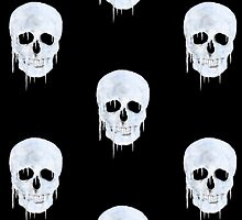 Iced Human Skull by TinaGraphics