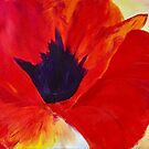 Red Hot Poppy  by Angelina D'Arcy
