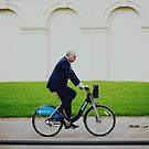 Bike Ride in London by Tom Cadrin