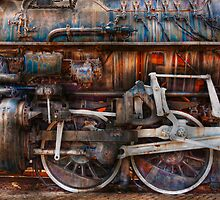 Train - With age comes beauty  by Mike  Savad