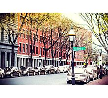 Boston Cityscape Photographic Print