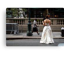 People 4954  New York Canvas Print
