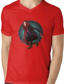 Amy and the Pandorica (Doctor Who) Mens V-Neck T-Shirt