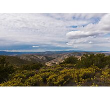 Carrizo Canyon Photographic Print