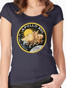 apollo  Women's Fitted Scoop T-Shirt