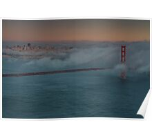 San Francisco in Clouds Poster