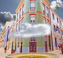 gaveto. surreal urban ps installation by terezadelpilar~ art & architecture