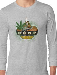 hemp surfboard wax Long Sleeve T-Shirt
