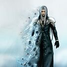 Sephiroth Final Fantasy iPhone Case by squidkid