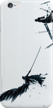Face Off- Final Fantasy iPhone Case by squidkid