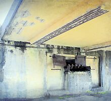 near gun emplacement #2 Walker Battery Ft Stevens by Dawna Morton