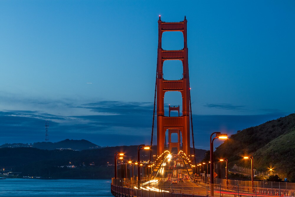 Morning at the Golden Gate by Richard Thelen