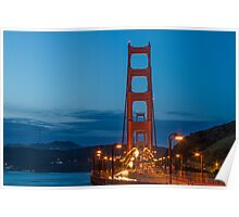 Morning at the Golden Gate Poster