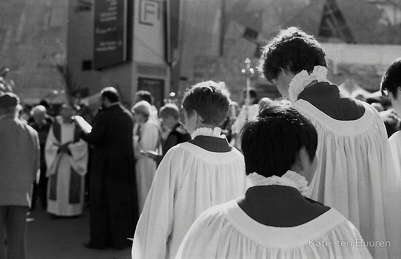 boys in white... by Kate ten Buuren by Shot in the Heart of Melbourne, 2013