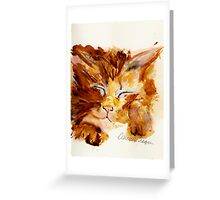 I'm Kitten Around Right Meow Greeting Card