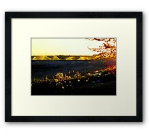 A.M. At My Home.../Caldwell, Idaho Framed Print