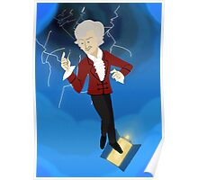 3rd Doctor in the Time Vortex Poster