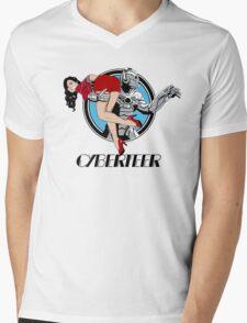Cyberteer Mens V-Neck T-Shirt