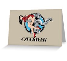 Cyberteer Print Greeting Card