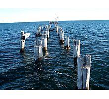 Wooden Pier Photographic Print
