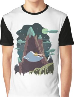 Bryce's Poster - Adventure Time Graphic T-Shirt