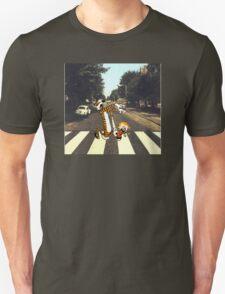 Calvin & Hobbes Meet the Beatles T-Shirt