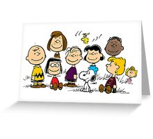 All Peanuts Together Greeting Card